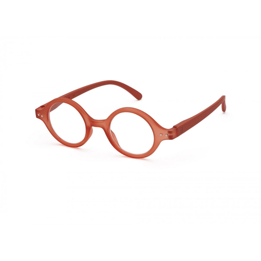 #J Reading Glasses - Warm Orange