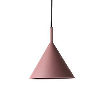 Matt Purple Metal Triangle Pendant Lamp
