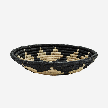 Seagrass Tray - Natural, black