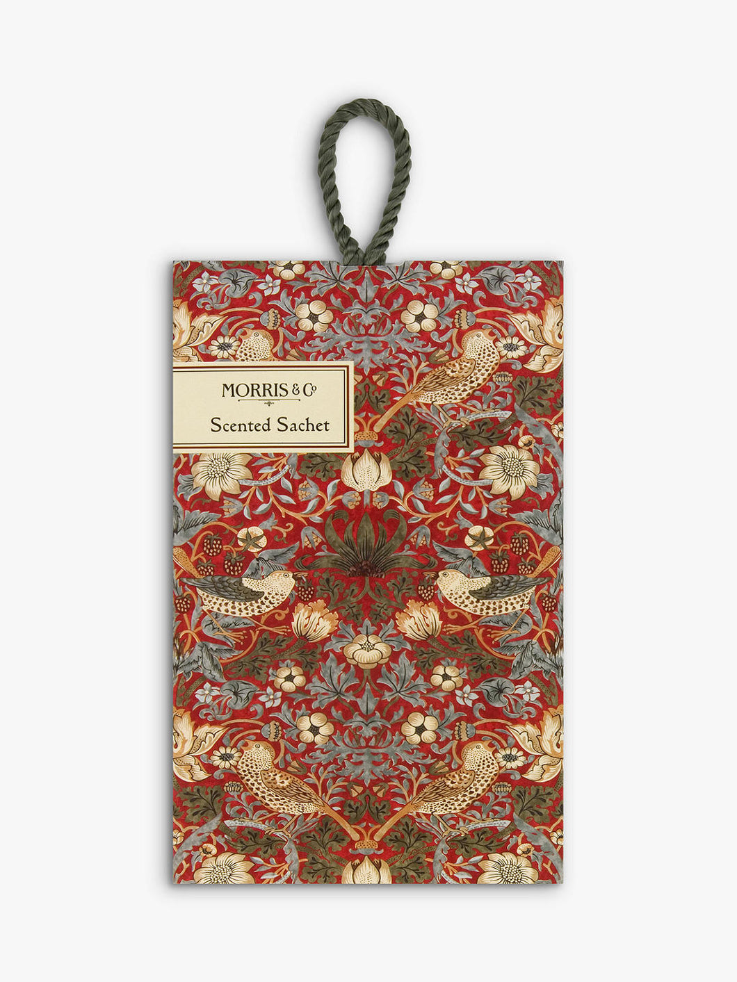 Morris & Co. Strawberry Thief Scented Sachet