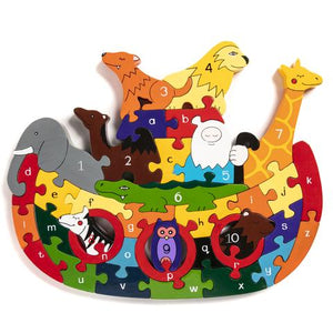 Alphabet Jigsaws - Alphabet Ark Jigsaw Puzzle