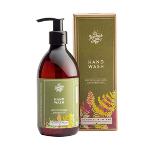 The Handmade Soap Company - Hand Wash - Sweet Orange, Basil and Frankincense (300ml)
