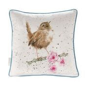 Load image into Gallery viewer, Wrendale 'Little Tweets' cushion