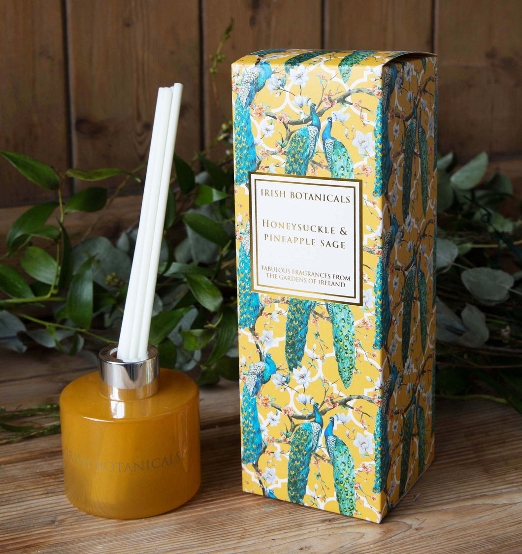 Irish Botanicals - Honeysuckle and Pineapple Sage  Diffuser