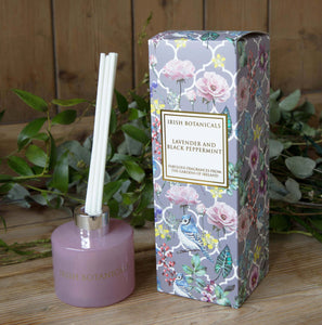 Irish Botanicals -Lavender and Black Peppermint Diffuser