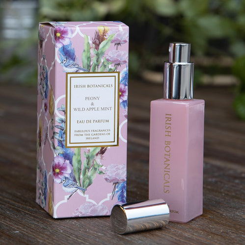 Irish Botanicals - Peony & Wild Apple Mint - Handmade Irish Perfume