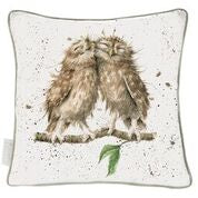 Load image into Gallery viewer, Wrendale 'Birds of a Feather' large cushion