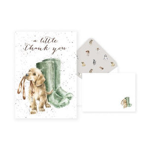Wrendale 'A Little Thank You' Notelet Set