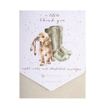 Load image into Gallery viewer, Wrendale 'A Little Thank You' Notelet Set