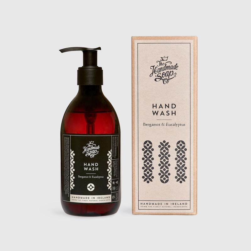 The Handmade Soap Company - Hand Wash - Bergamot & Eucalyptus - Art Deco (300ml)