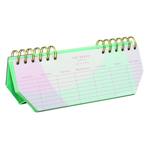Ted Baker - Weekly Planner Colour By Numbers