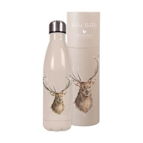 Wrendale 'Portrait of a Stag' water bottle
