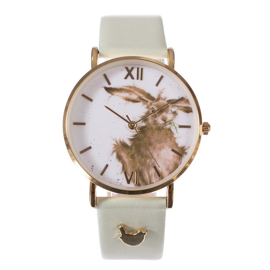 Wrendale 'Hare-Brained' Vegan Watch