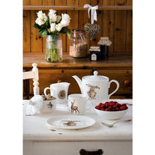 Load image into Gallery viewer, Wrendale Designs Mug and Tray Set - One Snowy Day Birds