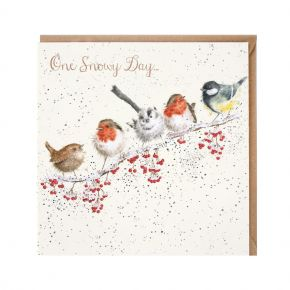 Wrendale Greeting Card - One Snowy Day