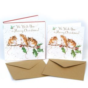 Wrendale - Christmas Mice, Christmas Box