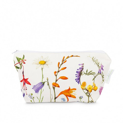 Holly Somerville - Atlantic Flora make-up bag