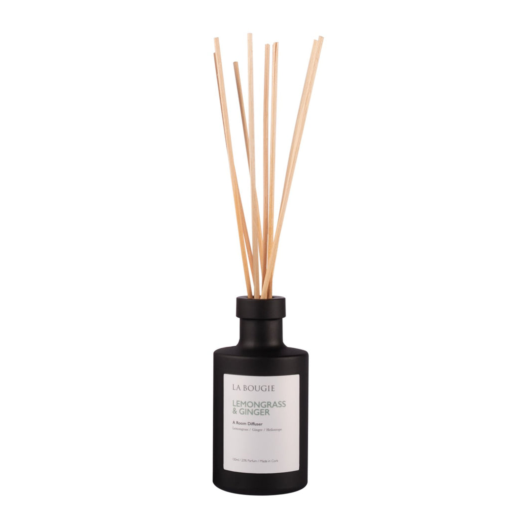 La Bougie Lemongrass & Ginger Room Diffuser