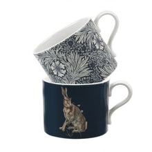 Load image into Gallery viewer, The Original Morris & Co Marigold & Hare Mugs Set of 2 Mugs (Spode)