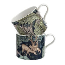 Load image into Gallery viewer, The Original Morris & Co Mugs Brook & Acanthus Set of 2 Mugs (Spode)