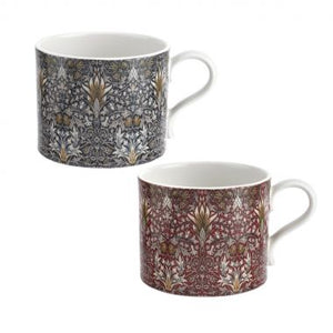 The Original Morris & Co Mugs Snakeshead Set of 2 Mugs (Spode)