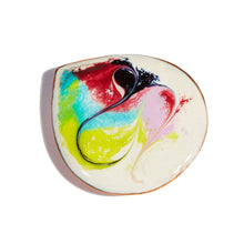 Load image into Gallery viewer, Maeb - Leia White Brooch (Enamel Brooch)