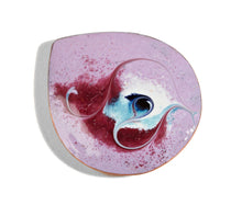 Load image into Gallery viewer, Maeb - Electric Blue Brooch (Enamel Brooch)