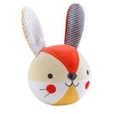 Organic Bunny Soft Chime Ball