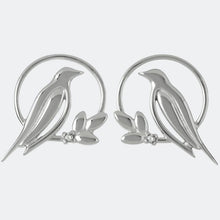 Load image into Gallery viewer, Sara Miller Diamond Bird Stud Earrings