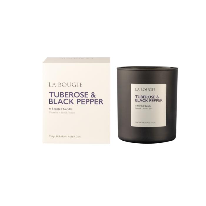 La Bougie Tuberose & Black Pepper Candle