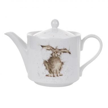 Wrendale Designs Hare 2 Pint Teapot (Royal Worcester)