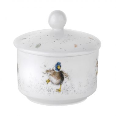Wrendale Designs Duck Sugar pot (Royal Worcester)