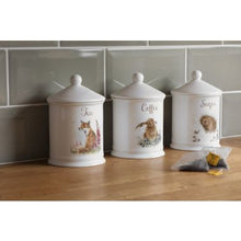 Load image into Gallery viewer, Wrendale Designs Tea Canister Fox (Royal Worcester)