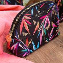 Load image into Gallery viewer, Sara Miller London Bamboo Small Cosmetic Bag