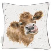 Load image into Gallery viewer, Wrendale 'Moooo' large cushion