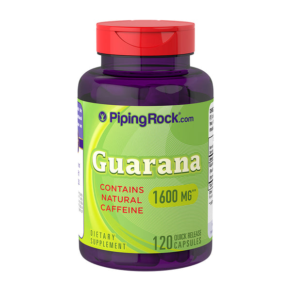 Guaraná 1600 mg - 120 Cápsulas