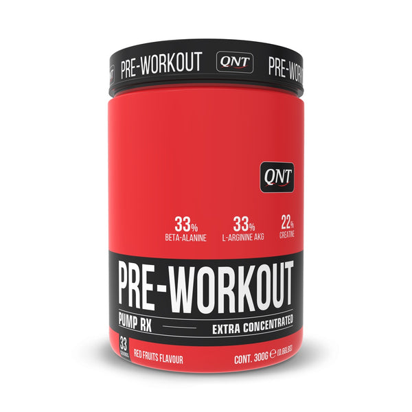 Pre-Workout PUMP RX Extra Concentrado Frutos Rojos 300 Grs