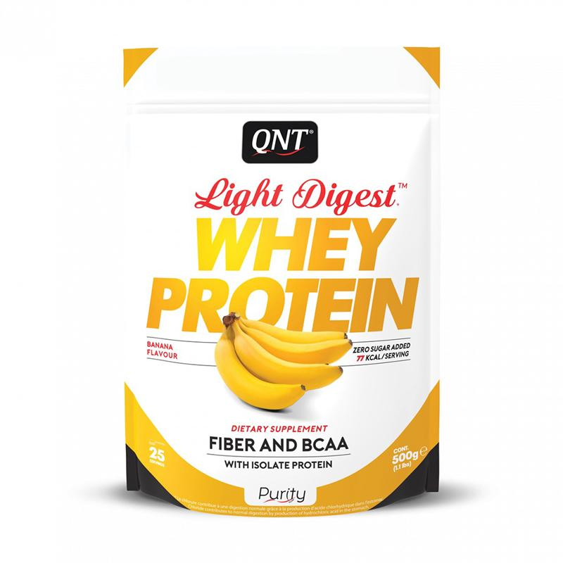 whey protein light digest banana 500g