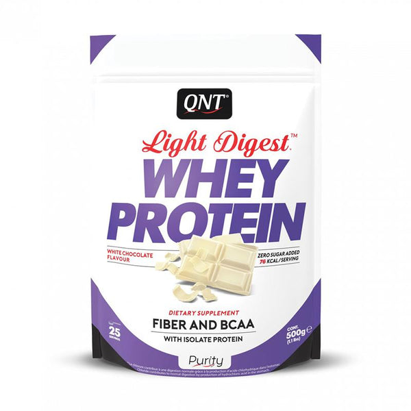 whey protein light digest chocolate blanco 500g