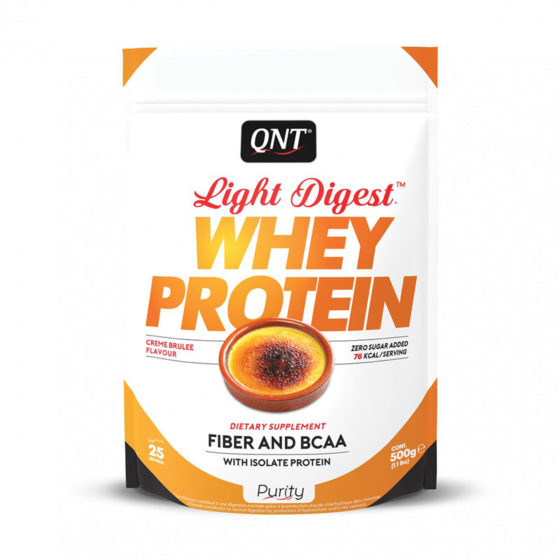 whey protein light digest chocolate belga 500g