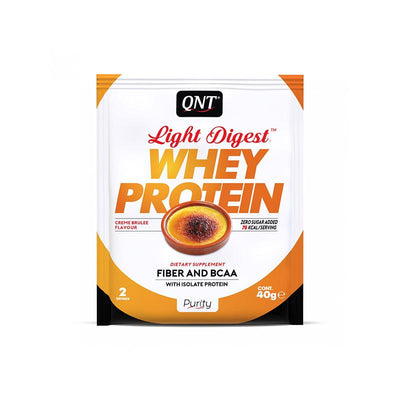 proteina whey light digest creme brulee 10x40g