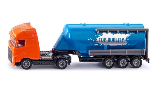 Truck with silo trailer 1:87 Scale