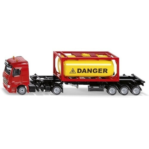 Mercedes Benz Truck with Bulk Container - 1:50 Scale
