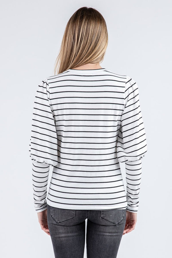 VICTORIAN STRIPED TEE