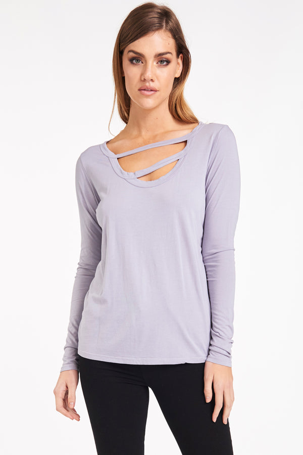 NONNA LONG SLEEVE TOP