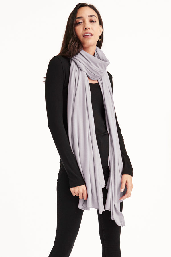 ZINGO SCARF - DAPPLE GREY