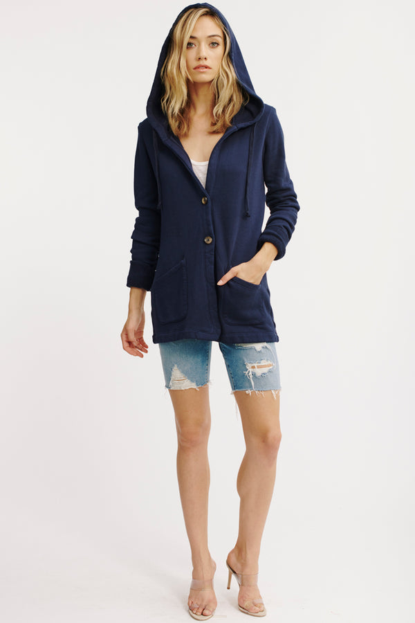 GROVE HOODED BLAZER