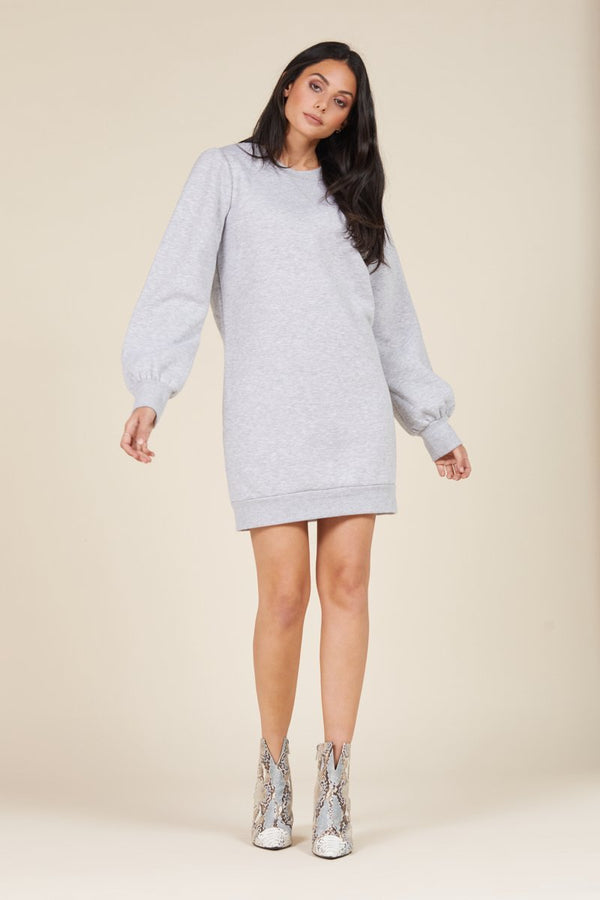 JUST LANDED SWEATSHIRT DRESS