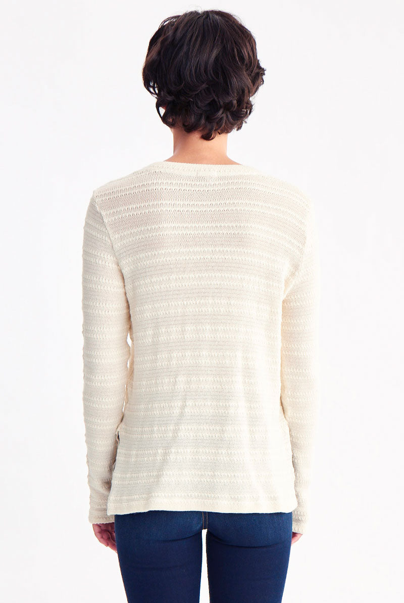 CODY V NECK SWEATER