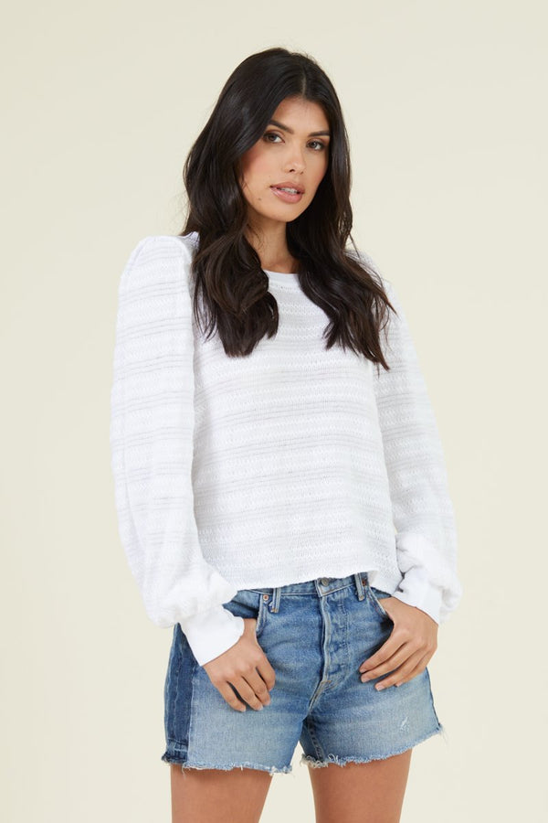 TINSLEY TOP - SWEATER KNIT